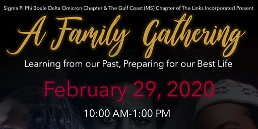 A Family Gathering: Learning from Our Past, Preparing for Our Best Life