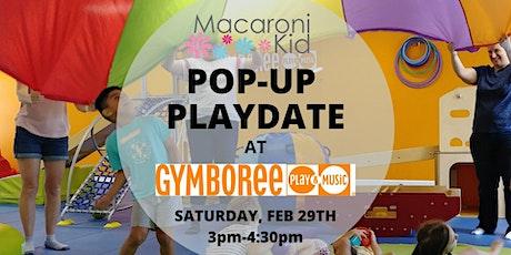 Macaroni Kid Pop-Up Playdate at Gymboree tickets