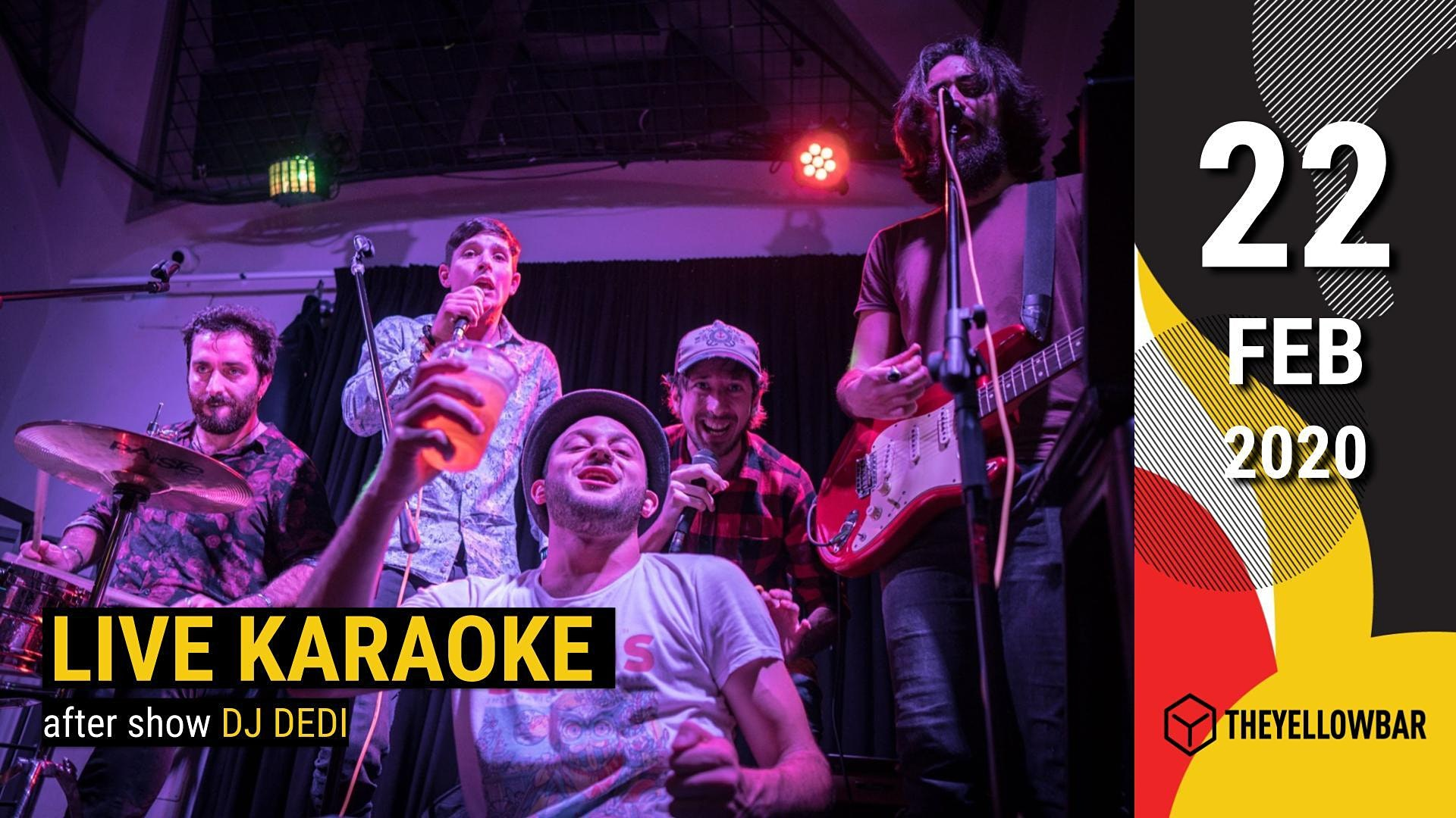 Live Karaoke - The Yellow Bar