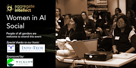 AISC; Women in AI Social- Spring Edition tickets