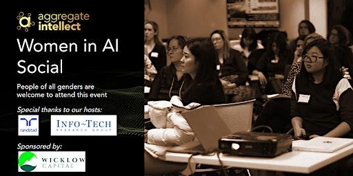 AISC; Women in AI Social- Spring Edition