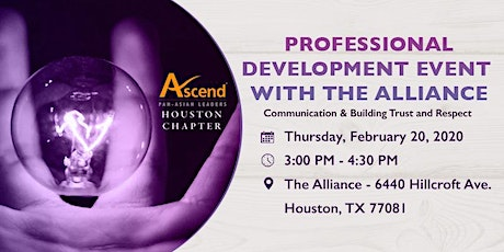 Professional Development Event With The Alliance tickets
