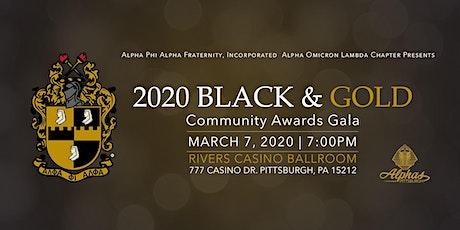 2020 AOL Black & Gold Ball tickets
