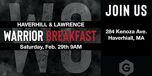 Warrior Breakfast (Hav/Law) Feb 29