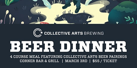 Collective Arts Beer Dinner tickets