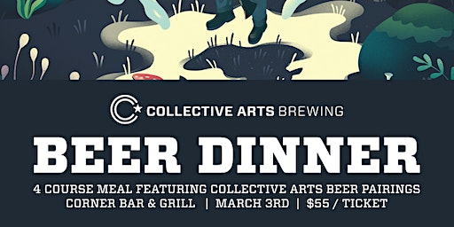 Collective Arts Beer Dinner