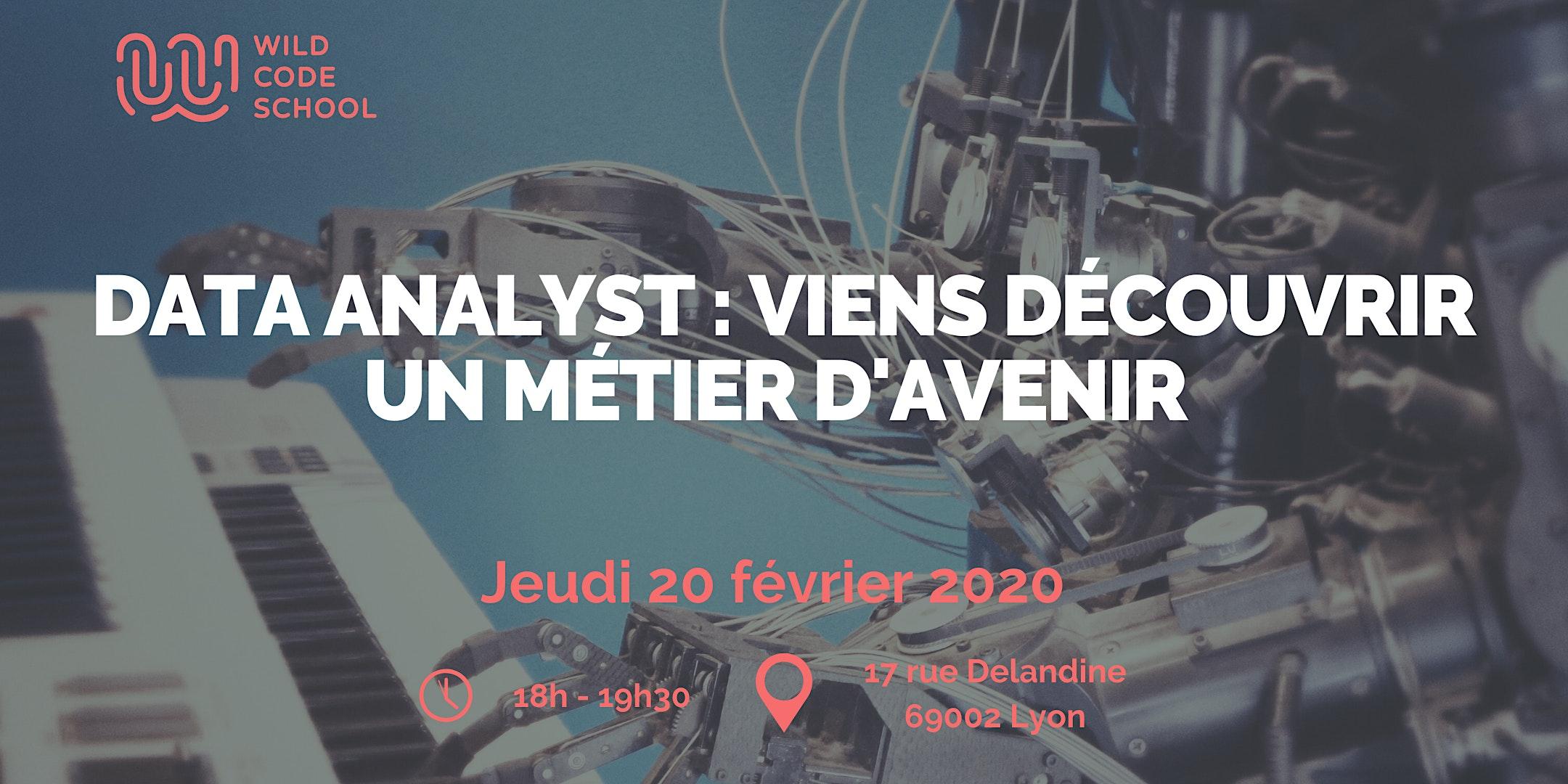 Data Analyst: Viens découvrir un métier d'avenir qui va exploser !