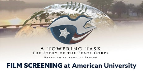 A Towering Task: The Story of the Peace Corps tickets
