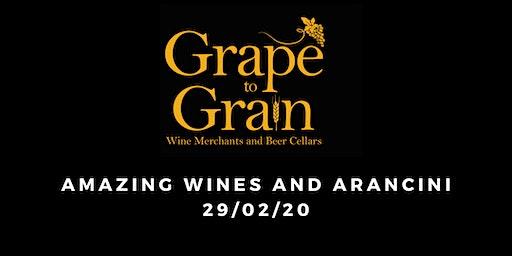 Amazing Wines and Arancini (Grape to Grain Ramsbottom)