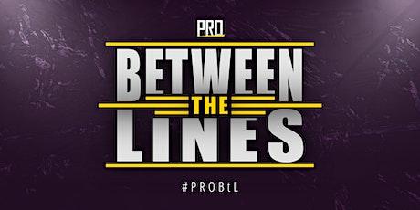 PRO Between the Lines - Wrestling in Dresden LIVE erleben! tickets