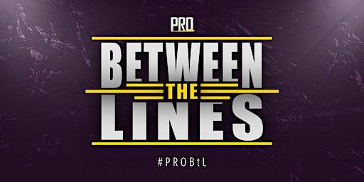 PRO Between the Lines - Wrestling in Dresden LIVE erleben!