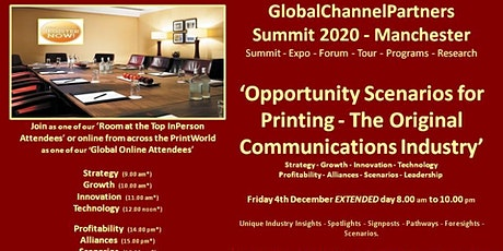 'Opportunity Scenarios for Printing - The Original Communications Industry' tickets