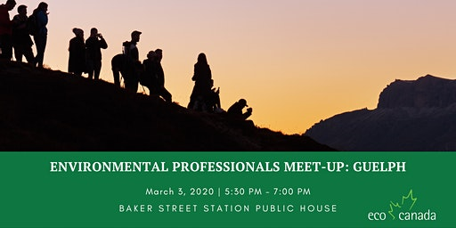 Environmental Professionals Meet-up: Guelph