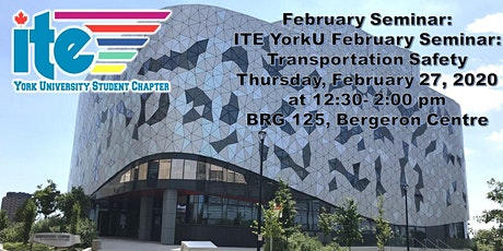 February Seminar: Transportation Safety tickets