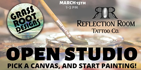 Open Studio Painting at Reflection Room Tattoo tickets