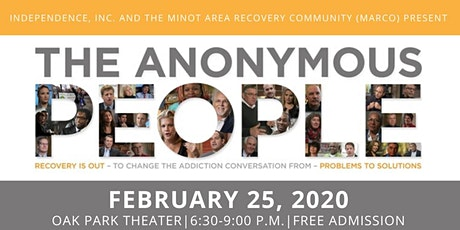 The Anonymous People Film Screening tickets