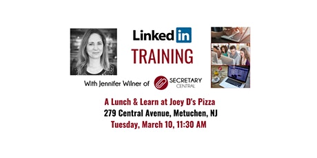 LinkedIn  - A  Workshop  for Entrepreneurs; A lunch & learn tickets