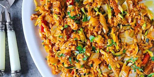 Vegetarian, Spanish Paella Lunch