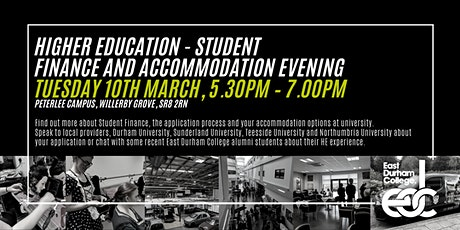 Student Finance and Accommodation Evening tickets