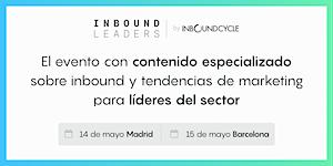 Inbound Leaders Barcelona (8ª Edición) - Nueva fecha...