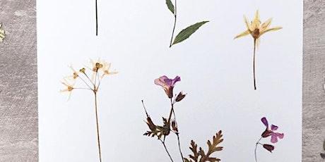 Pressed Flower Workshop with Wilder & Wren tickets