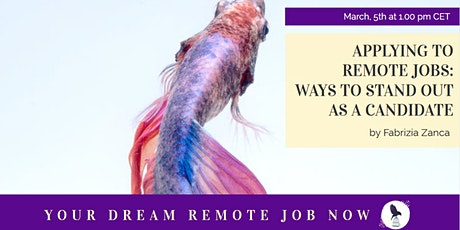 Applying to Remote Jobs: Ways to Stand Out as a Candidate tickets