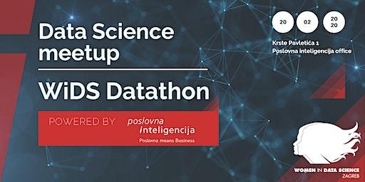 Data Science meetup: WiDS Datathon - powered by Poslovna inteligencija