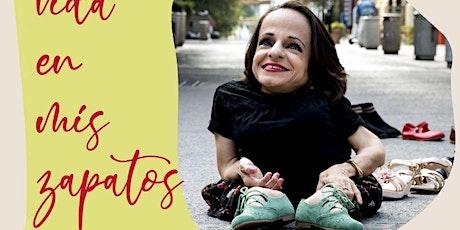Presentación de libro: La vida en mis zapatos entradas