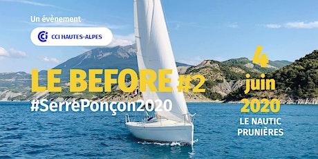 Le Before #SerrePonçon2020 billets