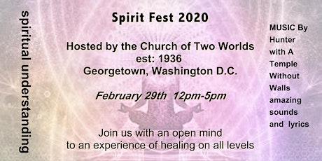 Spirit Fest 2020 tickets