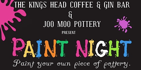 Kings Head Paint Night - April tickets
