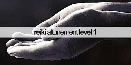 Usui Reiki System Level 1 Class & Attunement tickets