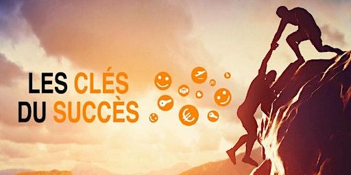 """Conférence découverte """"Les clés du succès"""" le 26 février 2020 (19h-21h)"""