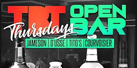 Throwback Thursdays : Premium Open Bar + Live Bands + 90's to 2000 R&B/Hip tickets