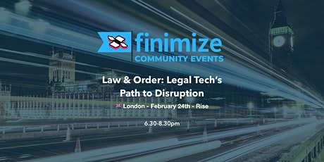 Law & Order: Legal Tech's Path to Disruption tickets