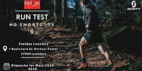 Run Test SCOTT / Foulées Louviers billets