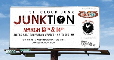 St. Cloud Junk Junktion Advanced Tickets for March 13-14th, 2020 Show!