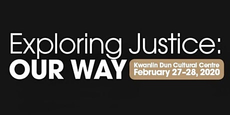 Exploring Justice: Our Way tickets