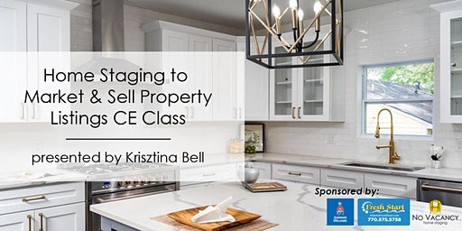 3HR CE Class - Home Staging to Market & Sell Property Listings