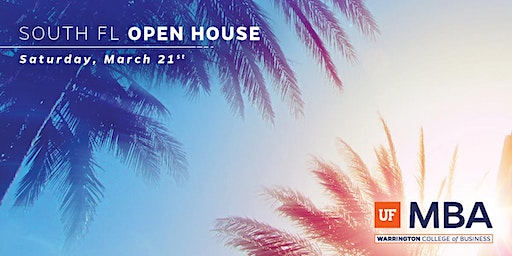 2020 UF MBA South Florida Open House