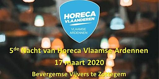 5de Nacht Horeca Vlaamse Ardennen