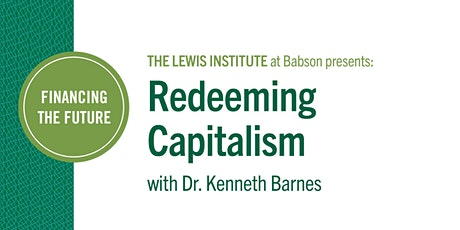 Financing the Future: Redeeming Capitalism tickets