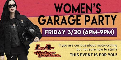 Women's Garage Party