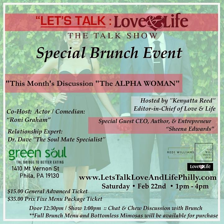 Let's Talk Love  and Life | Talk Show / Brunch Event image