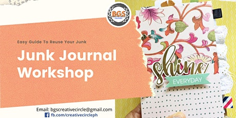 Junk Journal Workshop tickets