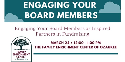 Lunch & Learn: Engaging Your Board Members