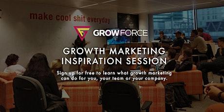 Free Growth Marketing Inspiration Session by GrowForce - De Winkelhaak tickets