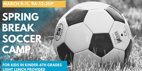 Spring Break Soccer Camp tickets