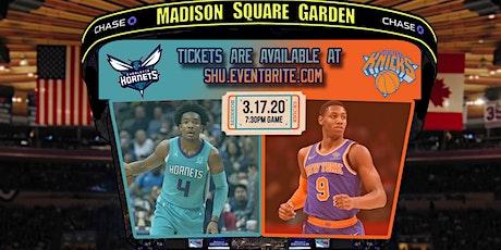 SAB Travel: Charlotte Hornets vs NY Knicks tickets