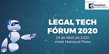Legal Tech Fórum ingressos